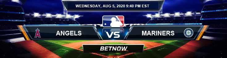 Los Angeles Angels vs Seattle Mariners 08-05-2020 MLB Picks Predictions and Baseball Previews