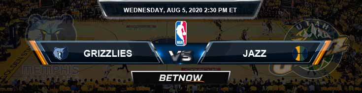 Memphis Grizzlies vs Utah Jazz 8-5-2020 Odds Picks and Game Analysis