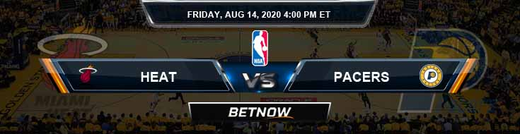 Miami Heat vs Indiana Pacers 8-14-2020 Odds Game Analysis and Prediction