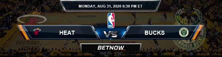 Miami Heat vs Milwaukee Bucks 8-31-2020 Betting Picks