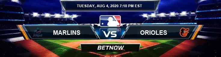 Miami Marlins vs Baltimore Orioles 08-04-2020 MLB Spread Forecast and Baseball Predictions