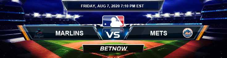 Miami Marlins vs New York Mets 08-07-2020 MLB Spread Game Analysis and Baseball Tips