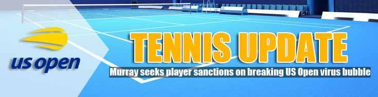 Murray Seeks Player Sanctions on Breaking US Open Virus Bubble