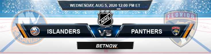 New York Islanders vs Florida Panthers 08-05-2020 NHL Odds Previews and Predictions
