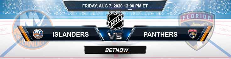 New York Islanders vs Florida Panthers 08-07-2020 NHL Picks Predictions & Previews