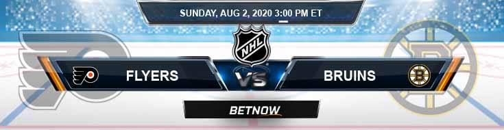 Philadelphia Flyers vs Boston Bruins 08-02-2020 NHL Picks Odds and Betting Predictions