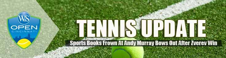 Sports Books Frown At Andy Murray Bows Out After Zverev Win