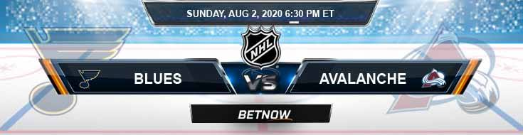 St. Louis Blues vs Colorado Avalanche 08-02-2020 NHL Previews Betting Spread and Hockey Picks