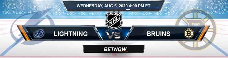 Tampa Bay Lightning vs Boston Bruins 08-05-2020 NHL Predictions Odds & Picks