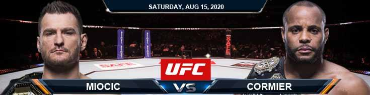 UFC 252 Miocic vs Cormier 3 08-15-2020 Odds Picks and Predictions