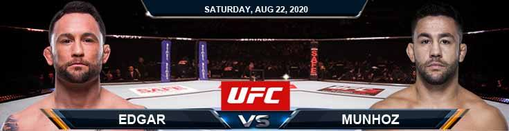 UFC On ESPN 15 Munhoz vs Edgar 08-22-2020 Picks Predictions and Previews