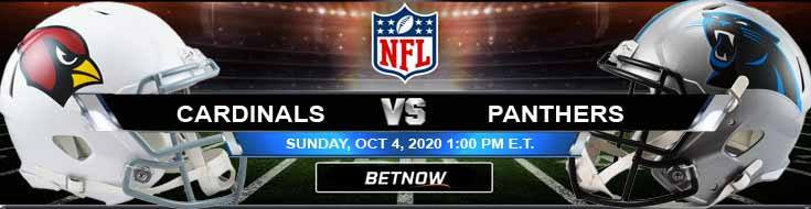 Arizona Cardinals vs Carolina Panthers 10-04-2020 Game Analysis Tips and Forecast