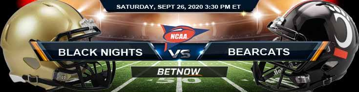 Army Black Knights vs Cincinnati Bearcats 09-26-2020 NCAAF Analysis Spread & Picks