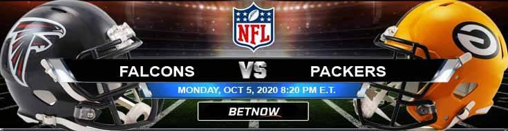 Atlanta Falcons vs Green Bay Packers 10-05-2020 Spread Game Analysis and Tips