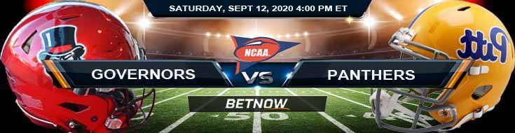 Austin Peay Governors vs Pittsburgh Panthers 09-12-2020 NCAAF Picks Forecast & Tips