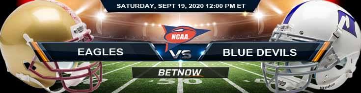 Boston College Eagles vs Duke Blue Devils 09-19-2020 NCAAF Forecast Analysis & Results