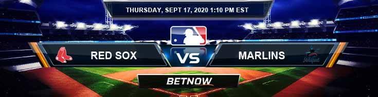 Boston Red Sox vs Miami Marlins 09-17-2020 Odds Picks and Predictions