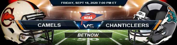 Campbell Fighting Camels vs Coastal Carolina Chanticleers 09-18-2020 NCAAF Odds Picks & Predictions