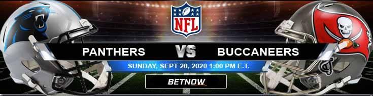 Carolina Panthers vs Tampa Bay Buccaneers 09-20-2020 Football Betting Odds and Picks