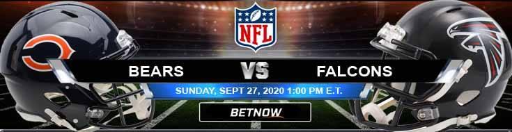 Chicago Bears vs Atlanta Falcons 09-27-2020 Picks Predictions and Previews