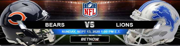 Chicago Bears vs Detroit Lions 09-13-2020 Game Analysis Tips and Forecast