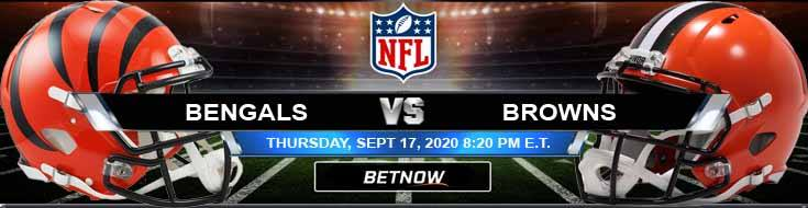 Cincinnati Bengals vs Cleveland Browns 09-17-2020 Odds Picks and Predictions