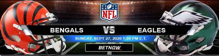 Cincinnati Bengals vs Philadelphia Eagles 09-27-2020 Tips Forecast and Analysis