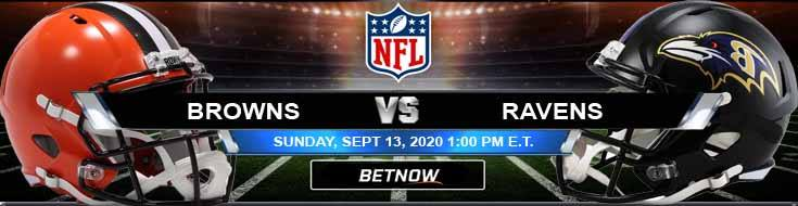 Cleveland Browns vs Baltimore Ravens 09-13-2020 Tips Forecast and Analysis