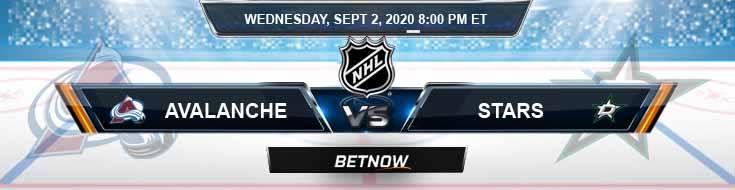 Colorado Avalanche vs Dallas Stars 09-02-2020 NHL Picks Previews & Game Analysis