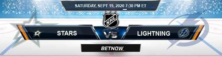 Dallas Stars vs Tampa Bay Lightning 09-19-2020 NHL Predictions Previews & Spread