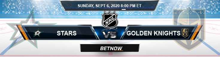Dallas Stars vs Vegas Golden Knights 09-06-2020 NHL Game Analysis Predictions & Odds