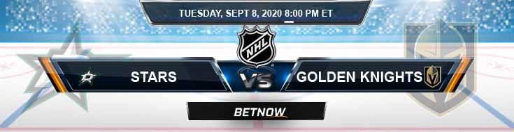 Dallas Stars vs Vegas Golden Knights 09-08-2020 NHL Previews Spread & Picks