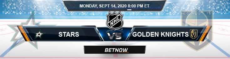 Dallas Stars vs Vegas Golden Knights 09-14-2020 NHL Game Analysis Picks & Odds