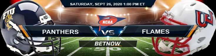 Florida International Panthers vs Liberty Flames 09-26-2020 NCAAF Picks Odds & Spread