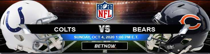 Indianapolis Colts vs Chicago Bears 10-04-2020 Spread Game Analysis and Tips
