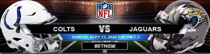 Indianapolis Colts vs Jacksonville Jaguars 09-13-2020 Spread Game Analysis and Tips