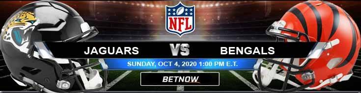 Jacksonville Jaguars vs Cincinnati Bengals 10-04-2020 Tips Forecast and Analysis