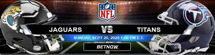 Jacksonville Jaguars vs Tennessee Titans 09-20-2020 Spread Game Analysis and Tips