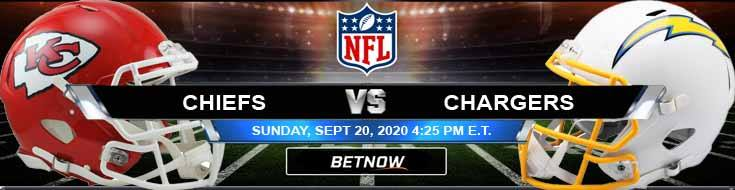 Kansas City Chiefs vs Los Angeles Chargers 09-20-2020 Picks Predictions and Previews
