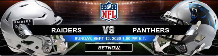 Las Vegas Raiders vs Carolina Panthers 09-13-2020 Forecast Analysis and Results