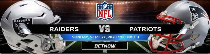Las Vegas Raiders vs New England Patriots 09-27-2020 Game Analysis Tips and Forecast
