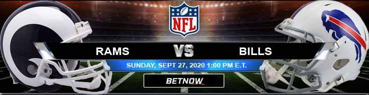 Los Angeles Rams vs Buffalo Bills 09-27-2020 Predictions Previews and Spread