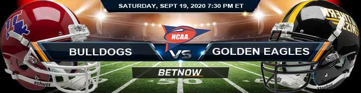 Louisiana Tech Bulldogs vs Southern Mississippi Golden Eagles 09-19-2020 NCAAF Results Odds & Picks