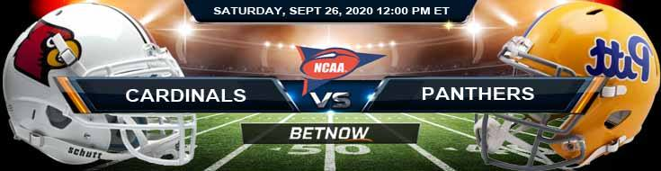 Louisville Cardinals vs Pittsburgh Panthers 09-26-2020 NCAAF Odds Analysis & Predictions