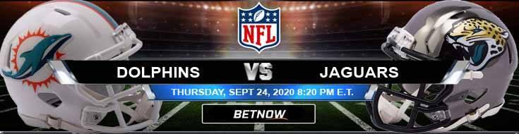 Miami Dolphins vs Jacksonville Jaguars 09-24-2020 Odds Picks and Predictions