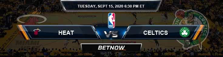 Miami Heat vs Boston Celtics 9-15-2020 Picks Previews and Game Analysis