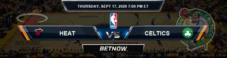 Miami Heat vs Boston Celtics 9-17-2020 Previews Picks and Predictions