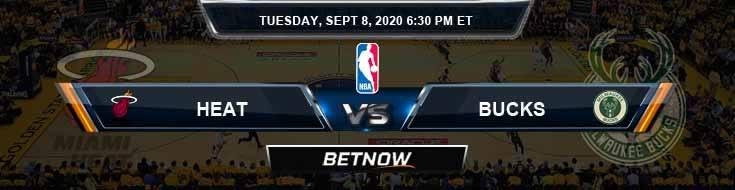 Miami Heat vs Milwaukee Bucks 9-8-2020 Spread Picks and Prediction