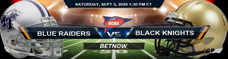 Middle Tennessee Blue Raiders vs Army Black Knights 09-05-2020 Previews Spread and Game Analysis