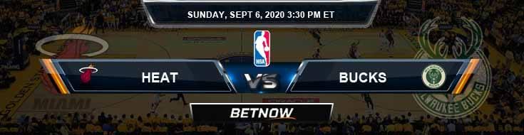 Milwaukee Bucks vs Miami Heat 9-6-2020 NBA Previews and Prediction